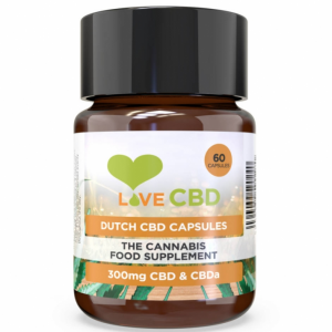 Love CVD Dutch Capsules 300mg x 60