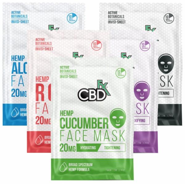 CBDfx Face Masks variety