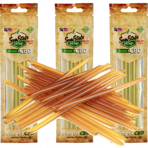 SUNSTATE CBD HONEY STICKS 50MG