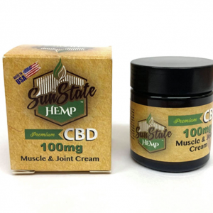 SUNSTATE-CBD-MUSCLE & JOINT CREAM-30ML-box-jar